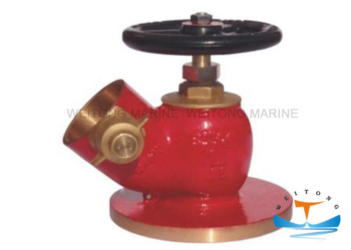 Bronze / Brass Flanged Fire Hydrant for Marine