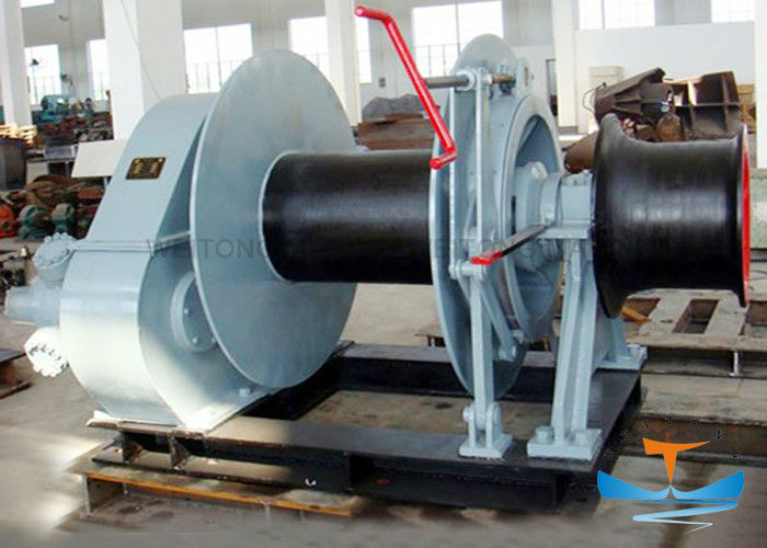 High Mechanical Efficiency Marine Electric Winch 12.5-114mm Rope Diameter