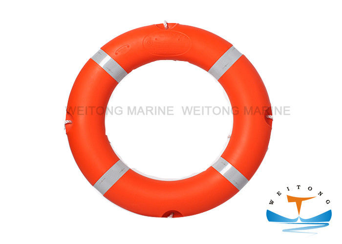 SOLAS Orange Life Saving Buoy , Lifebuoy Safety Equipment 2.5/4.3kg CCS Appoval