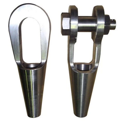 Durable Lifting Rigging Equipment Galvanized Steel Us Type G416 Open Type Spelter Sockets